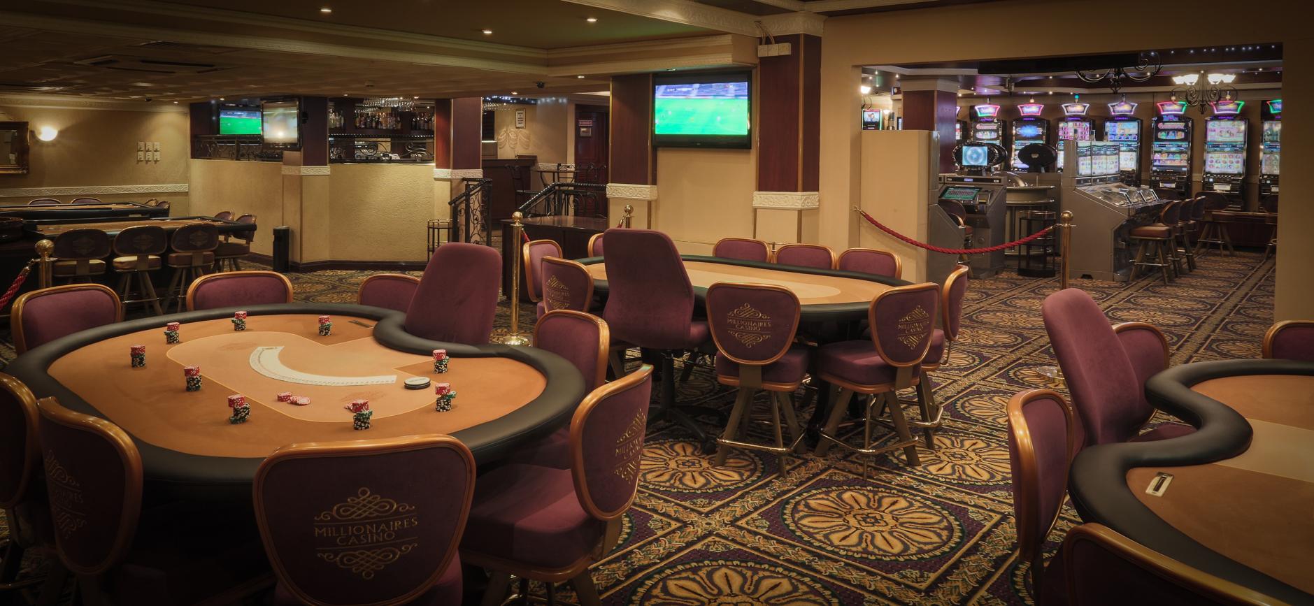 Millionare casino charity casino ontario